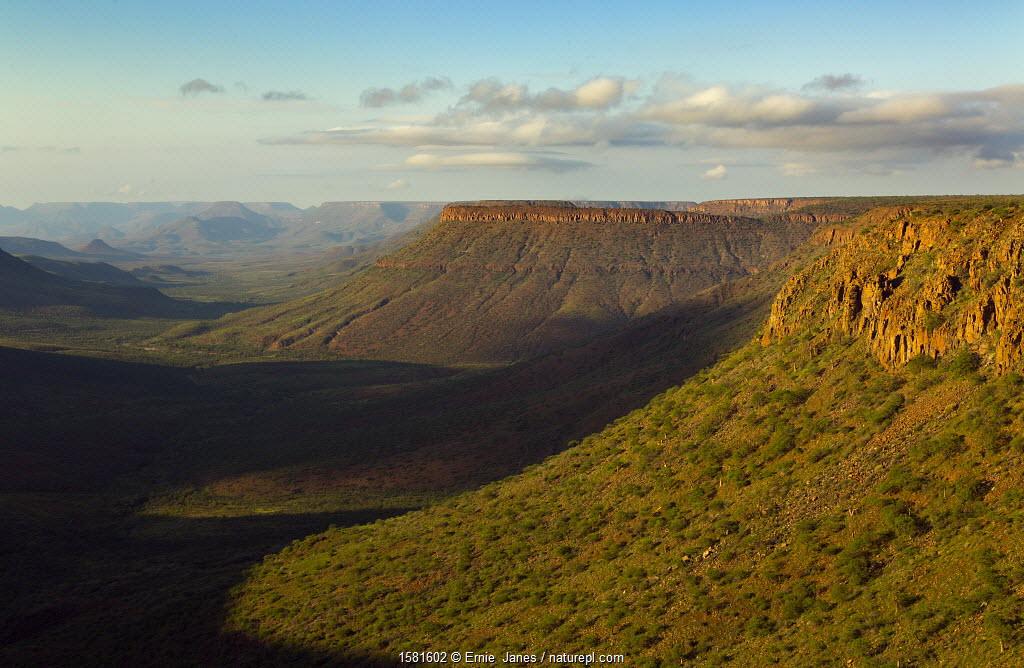 Klip river valley, Grootberg plateau, Damaraland, Kunene region, Namibia, March 2017.