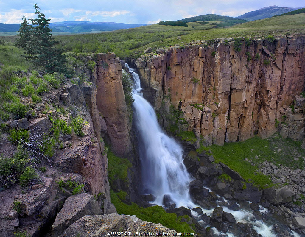 North Clear Creek Falls, Rio Grande National Forest, Colorado