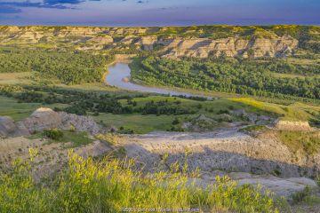 Little Missouri River, Theodore Roosevelt National Park, North Dakota