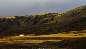 Remote farmhouse, Southern Iceland. October 2017