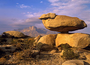 Balanced rocks, Guadalupe Mountain National Park, Texas  -  Tim Fitzharris