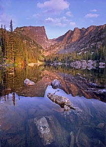Hallet Peak from Dream Lake, Rocky Mountain National Park, Colorado  -  Tim Fitzharris