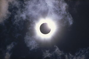 Solar eclipse, August 11, 1999 photographed from Munich, Germany  -  Konrad Wothe