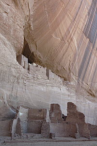 Pueblo or Anasazi Indian cliff dwellings built around 1060 AD, White House Ruins, Canyon De Chelly National Monument, Arizona - Ingo Arndt