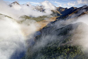Clouds in Takahe Valley, Fjordland National Park, South Island, New Zealand  -  Stephen Belcher