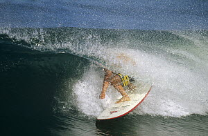 Jay Moriarity, September 1996, central coast, California  -  Bob Barbour