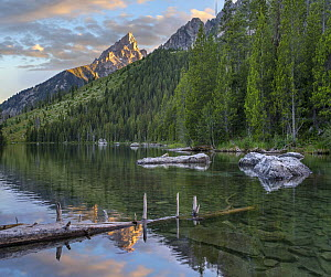 String Lake and the Grand Tetons, Grand Teton National Park, Wyoming  -  Tim Fitzharris