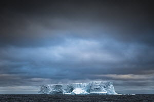 Iceberg in ocean, South Orkney Islands, Antarctica  -  Andrew Peacock