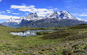 Mountains, Cordillera Paine, Torres del Paine National Park, Patagonia, Chile  -  Shane P. White