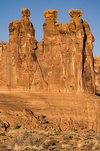 Three Gossips formation, Arches National Park, Utah - Jeff Foott