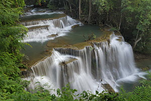 Huay Mae Khamin Waterfall, Kheaun Sri Nakarin National Park, Thailand - Thomas Marent
