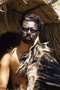 Reconstruction - New Zealand Traditional Maori culture for tv series Nomads of the wind, 1992 - Mark Jacobs