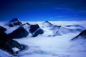 View from North Col of Everest,Himalayas, Nepal  -  Leo & Mandy Dickinson