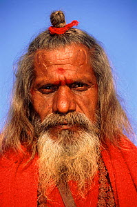 Holy man in India - Pete Oxford