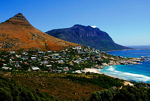 Cape Town and coast line, South Africa - Peter Blackwell