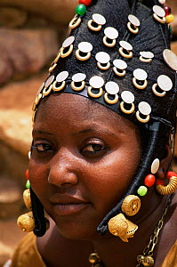 Headress of married Fulani woman, Mali, West Africa  -  Grant McDowell