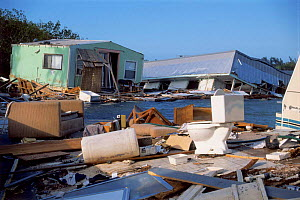 Damage caused by Hurricane George. Key West, Florida, USA  -  Hanne & Jens Eriksen