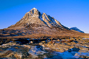 Buachaillie Etive Mor and River Etive, Glencoe, Highlands, Scotland, UK - Geoff Scott-Simpson
