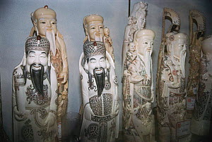Ivory carved figures for sale Kowloon, Hong Kong, China - Jabruson