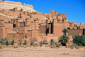 Ajt Benhaddou 15th century settlement, Morocco, North Africa  -  Nick Barwick