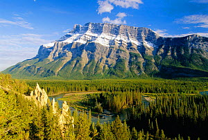 Mount Rundle and the Bow Valley, Banff National Park, Alberta Canada - David Noton