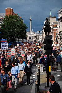 Countryside Alliance Liberty and Livelihood March.  London, UK. 22 September 2002 - Martin H Smith