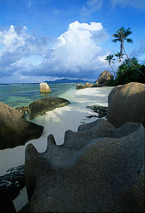 Anse Source d'Argent Beach, La Digue Island, Seychelles, Indian Ocean - Gavin Hellier