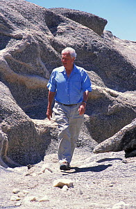 Sir David Attenborough Namibia 2001  -  Neil Lucas