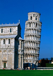 The leaning Tower of Pisa, Campo dei Miracol, Pisa, Tuscany, Italy  -  Gavin Hellier
