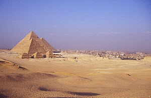 Cairo and the Pyramids, Egypt  -  Dan Rees