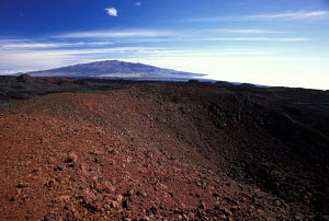 Mauna Loa (long mountain) earth's largest volcano Big Island Hawaii  -  Photo Resource Hawaii