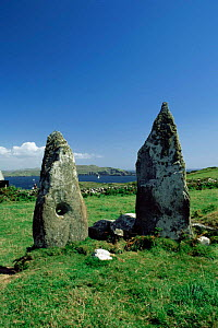 Marriage stones on Cape Clear Island, Southern Ireland  -  Paul Hobson