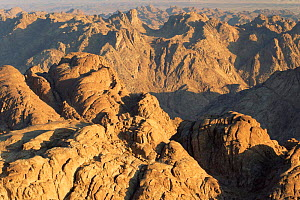 View from Mt Sinai at sunrise, Egypt. - Rolf Nussbaumer