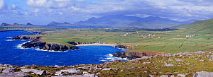 Panoramic of Dingle Peninsula, Ireland.  -  Mark Taylor