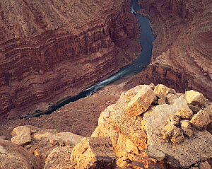 Marble Canyon and the Colorado river, Grand Canyon NP, Arizona, USA - Jack Dykinga
