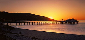 Sunrise at Malibu Pier on the Pacific Coast, California, USA - Kirkendall-Spring