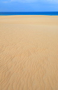 Sand and sea atCoralejo Dunes Natural Reserve, Fuerteventura, Canary Isles, Spain, September 2007 - Fabio Liverani