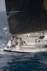 """""""Sonadio lll"""" Archambault 40 during Antigua Race Week 2008. Day 2, halfway round the Island Race, Dickenson Bay to Falmouth anti clockwise. - Rick Tomlinson"""