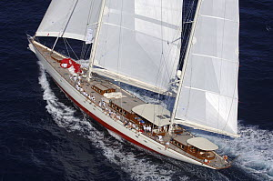 "SY ""Adele"", 180 foot Hoek Design, at the Superyacht Cup Palma, October 2005 Non editorial uses must be cleared individually.  -  Rick Tomlinson"