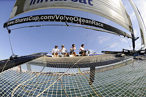 Extreme 40 racing in the Volvo Ocean Race village, Alicante, Spain, in the lead up to the Volvo Ocean Race 2008-2009. October 6th 2008. For EDITORIAL USE only.  -  Rick Tomlinson