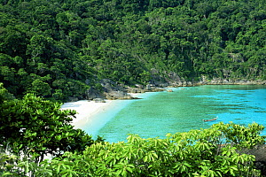 The Similan islands, off Thailand's south west coast in the Andaman sea  -  Francis Abbott