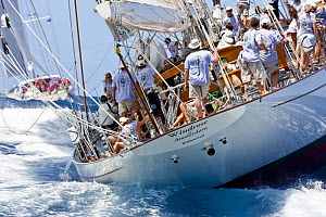 """Windrose"", Saint Barths Bucket Super Yacht Regatta, Caribbean, March 2009. - Onne van der Wal"