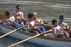 """""""Young Bristol"""" crew in the """"Bristol Challenge"""" race, March 21st 2009. - Rob Cousins"""