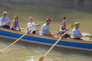 """Rock crew celebrating finishing the """"Bristol Challenge"""" race along the Avon Gorge, March 21st 2009. - Rob Cousins"""