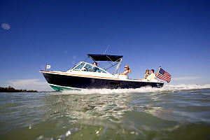 Harrier 25 off Marco Island, Florida, USA. Model and property released, 2007.  -  Billy Black