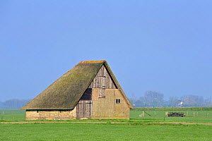 Schapenboet, a traditional barn for storing hay, Texel, the Netherlands, April 2009 - Philippe Clement