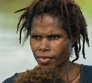 Young woman, Papua New Guinea, September 2007 - Mark Brownlow