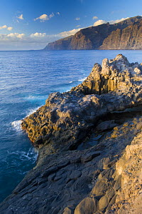 The ^Gigantes^, sea cliffs in the South of Tenerife, Canary Islands, Spain, December 2008  -  Wild Wonders of Europe / Relanzón