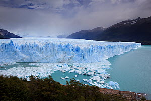 Edge of the Perito Moreno Glacier, Los Glaciares National Park, Argentina February 2009 - Michael Hutchinson
