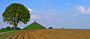 The Lion Hill, the main memorial monument of the Battle of Waterloo, Eigenbrakel, Belgium  -  Philippe Clement
